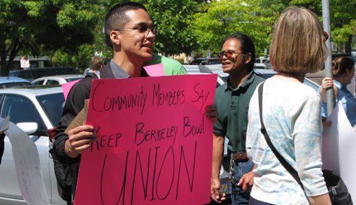 Community supports Berkeley Bowl workers