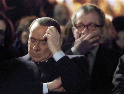 Berlusconi heaps praise on Mussolini