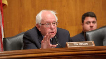 Bernie Sanders goes into action for real shared sacrifice