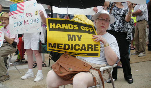 St. Louis rally opposes cuts (with video)