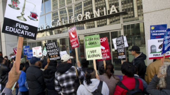 Calif. students rally to save higher education
