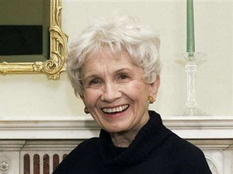 Alice Munro, Canadian writer, wins Nobel Prize in literature