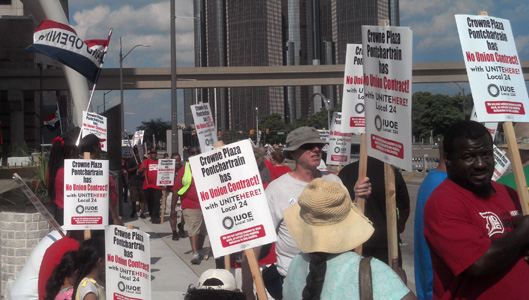 Residents say poverty wages will not resurrect Detroit