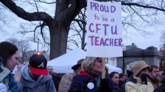 R.I. calls truce in war on teachers