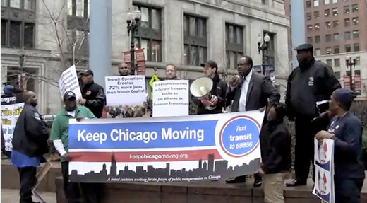 Video: Fighting for Chicago mass transit