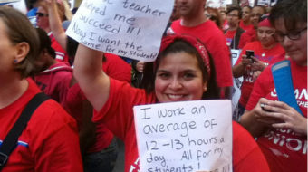 Chicago teachers agree: Children do deserve better