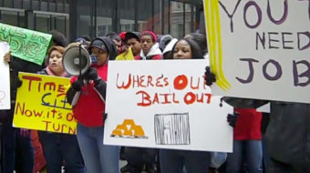 Chicago youth demand jobs