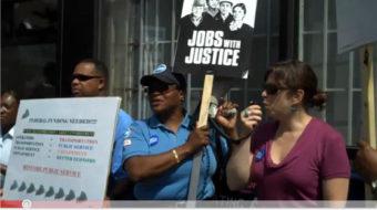 Chicago unemployed organize