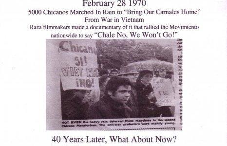 Why commemorate the Chicano Moratorium in February?