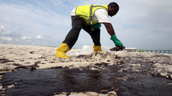 Guess where BP is dumping its oil-spill waste?