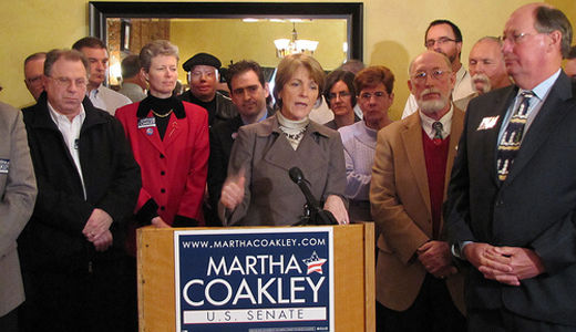 Labor backs Coakley in heated Massachusetts senate race