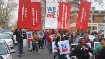 Young Trade Unionists host We Are One event