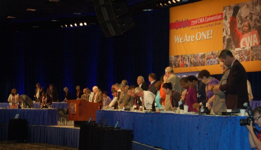 Unionists say America needs collective bargaining
