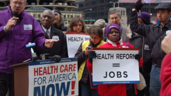 Health care reform movement fights for last minute changes