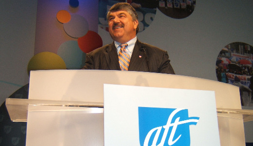 Trumka tells AFT: Stand together, march together, vote together