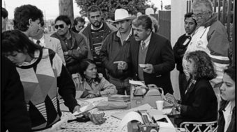 Twenty years of cross-border solidarity: A history in photographs