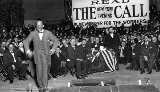 Eugene Debs: March together, vote together, fight together