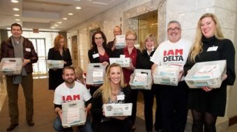Delta flight attendants file for IAM representation