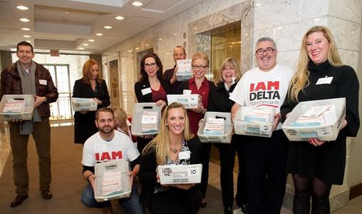 Delta flight attendants file for IAM representation