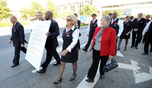 Flight attendants to appeal narrow loss at Delta