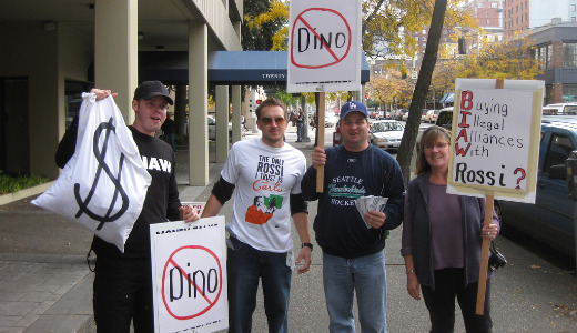 "GOP candidate Dino Rossi wins ""crooked"" listing"