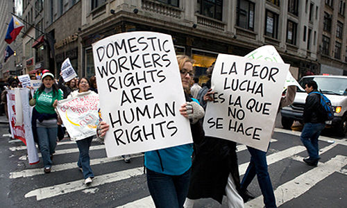 Afraid no more: Domestic workers fight back
