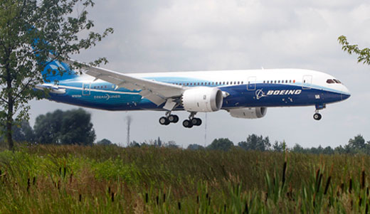 Documents show Boeing saw South Carolina as worst option for 787