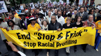 Opponent of stop-and-frisk fears for her son