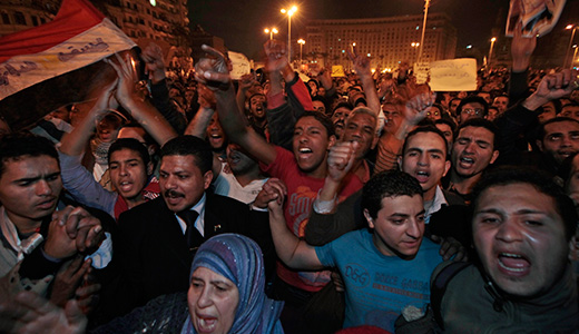 Egypt uprising is turning point for region and U.S.