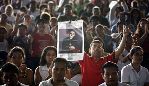 El Salvador honors Archbishop Oscar Romero