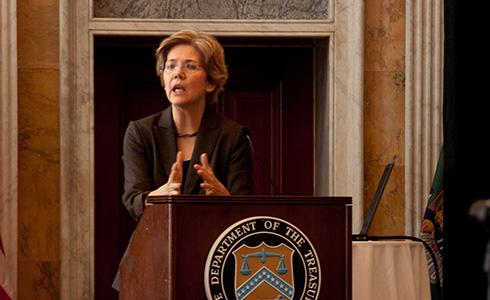 Elizabeth Warren versus corporate shills