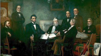 Today in labor history: Lincoln tells advisors about Emancipation Proclamation