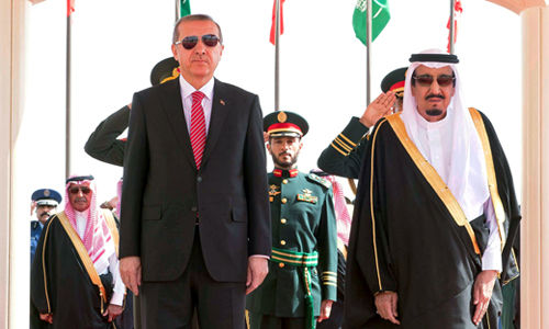 Dark plots in the Middle East?