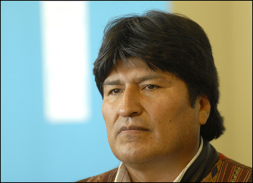 Bolivian president begins second term