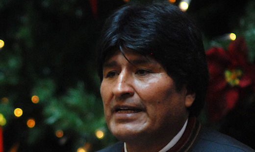 Bolivian president rallies New Yorkers to protect nature