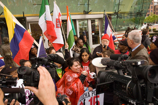 Fast food workers strike in 150 U.S. cities and 36 countries
