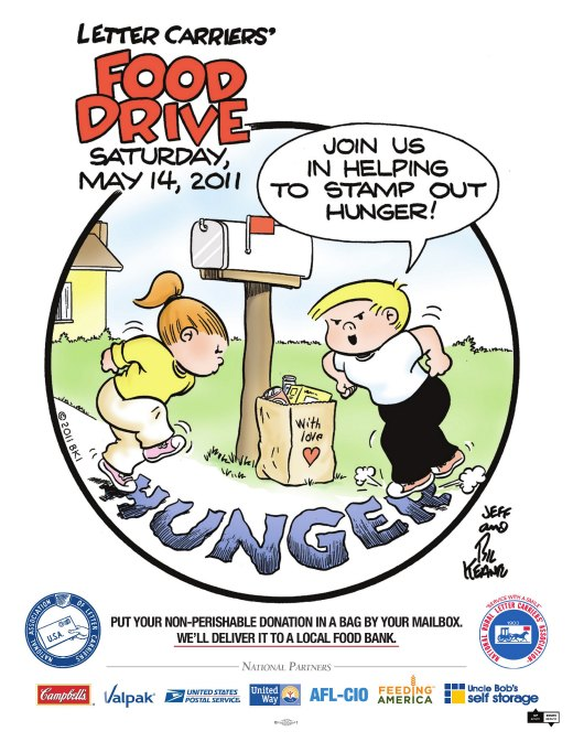 """Union prepares to """"stamp out hunger"""""""