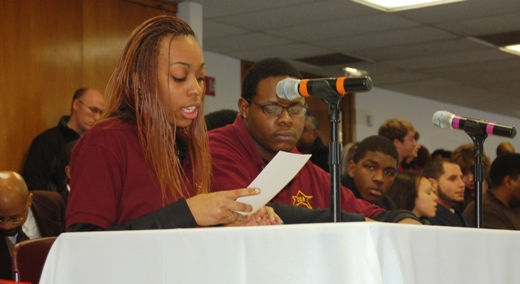Teens testify 'We want jobs'