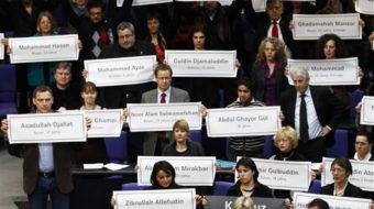 Bustle in the Bundestag