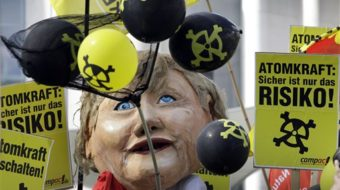 Germans fight nuclear plants, railroad stations, Nazis