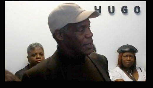 Workers battling plant shutdown get boost from Danny Glover