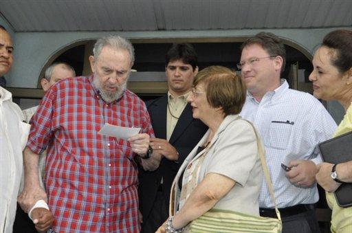Goldberg analyzes his visit with Fidel Castro