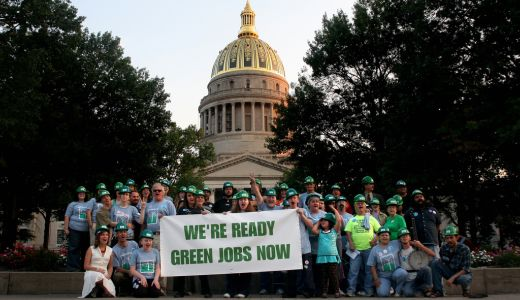 AFL-CIO head: Time to take green jobs seriously