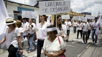 Organized crime: part of the system in Guatemala