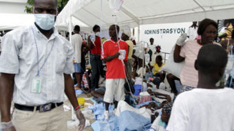 Dangerous cholera outbreak in Haiti