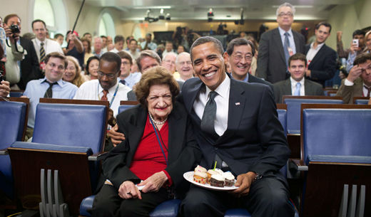 Today in history: Remembering White House correspondent Helen Thomas