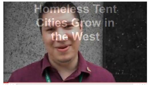 Homeless tent cities grow in the West