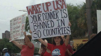 Audio: Demanding food safety, Houston protests GMOs