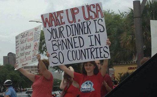 Audio: Demanding food safety, Houston protests GMOs