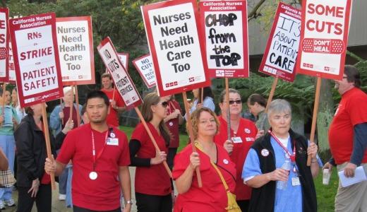 Thousands of California nurses strike to fight takeaways
